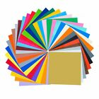 Permanent Self Adhesive Backed Vinyl Sheets 12 X 12 49 Assorted Colors for