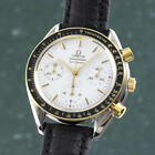 Omega Speedmaster Reduced Chronograph Stahl Gold Automatik 1750032 VP 4000
