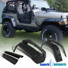 For 1997 2006 Jeep Wrangler TJ Extended Bumper Fender Flares 7 Full Wide Body