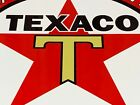 VINTAGE TEXACO GASOLINE RED STAR GOLD