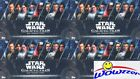 (4) 2018 Topps Star Wars Galactic Files Factory Sealed HOBBY Box-8 HITS w 4 AUTO