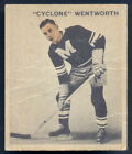1933 World Wide Gum Ice Kings Hockey #43 Cyclone Wetworth VG-EX Montreal Maroons