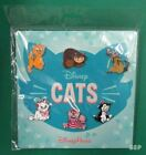 Disney Cats 6 Pin Booster Set Figaro Cheshire Oliver Marie Si