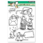 PENNY BLACK RUBBER STAMPS CLEAR ESPECIALLY MICEY NEW clear STAMP SET