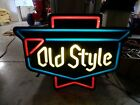 Vintage Old Style Beer Neo Neon Lighted Sign Heileman Brewing Bar Pub