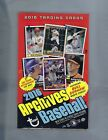 2016 TOPPS ARCHIVES BASEBALL HOBBY BOX FACTORY SEALED 2 AUTOGRAPHS PER BOX ! !