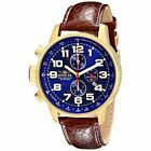 Invicta  I-Force 3329  Leather Chronograph  Watch