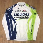 Liquigas Cannondale Sugoi rare full zip long sleeve cycling jersey size M