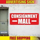 Consignment Mall Advertising Banner Vinyl Mesh Decal Sign Shop Store Antique Now