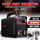 220v 225a Mini 4200w Mma Arc Welder Igbt Welding Inverter Machine 10pcs Kit Set