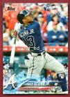 Ronald Acuna Jr. Snowflake RC 2018 Topps Holiday Box HMW50 Rookie Braves MINT