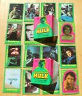 1979 Topps Incredible Hulk Trading Cards 7