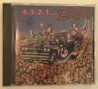 4-3-2-1-The Zeros CD 1991~ Restless Records ~ RARE OOP