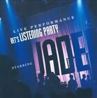 BET's Listening Party Staring Jade Live Performance by Jade AUDIO CD *DISC ONLY*