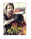 20-Film Action Featuring Chuck Norris DVD
