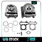 100cc Big Bore Cylinder Head Kit Fit Scooter 50cc 60cc GY6 139QMB 139QMI Engines