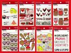 U CHOOSE Recollections VALENTINES DAY Stickers XOXO Love Hearts Be Mine Kiss