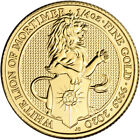 2020 Great Britain Gold Queens Beasts White Lion 25 1 4 oz BU