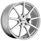Staggered TSW Interlagos F: 18x8, R: 18x9.5 5x114.3 Silver/Mirror Wheels Rims