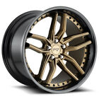 Staggered Niche M195 Methos F 20x9 R 20x105 5x1143 Bronze Black Wheels Rims