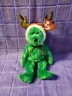*2002 HOLIDAY TEDDY* Christmas Bear ~ TY Beanie Baby ~ Excellent Condition