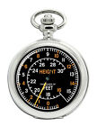 Spitfire Altimeter Pocket Watch
