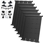 SwimJoy Premium Most Efficient DIY Solar Pool Heater Kit For In Ground Pool