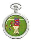 Rugby Scrum Pocket Watch