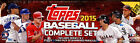 2015 TOPPS BASEBALL FACTORY SEALED HOBBY BOX SET w 5 BONUS ORANGE PARALLELS