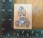 Stampendous Precious Moments Baby Cheerful Giver Dogs Rubber Stamp