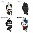 NEW Leather Professional Gloves Motorcycle knuckles Protection Racing Apparel US