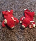 Ty Beanie Baby Lot Snort and Tobasco Very Rare 1995 edition