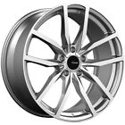 4 Advanti 90MG Rasato 19x85 5x45 +45mm Grey Machined Wheels Rims 19 Inch