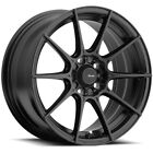 Advanti Racing 79B Storm S1 15x8 4x100 +25mm Matte Black Wheel Rim 15 Inch