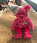 TY Teenie Beanie Baby January w/Birthday Party Hat, 2002, Collectible, Pre-owned