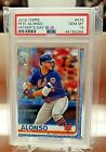 2019 Topps Series 2 #475 Pete Alonso - Fathers Day Blue 50 - PSA 10 (POP 2) SSP