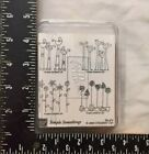 Stampin Up Simple Somethings Wood Rubber Stamps 4 Set NEW
