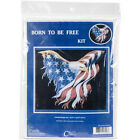 Cody Country Cross Stitch Kit 165X145 Born To Be Free 14 Count CCC8158