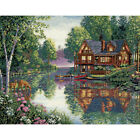 Dimensions Gold Collection Counted Cross Stitch Kit 16X12 Cabin Fever 18 Coun