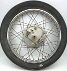 Vintage Honda CL77 Cb350 CL350 Front Wheel and Brake Plate 19