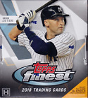 2018 TOPPS FINEST BASEBALL HOBBY BOX FACTORY SEALED NEW