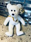 2005 TY Beanie Baby HOLY FATHER the Bear Gold Swing Tag Pope John Paul II