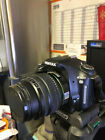 Pentax Camera K100D DSLR With Lens Strap and Tripod Stand