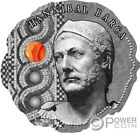 HANNIBAL BARCA Stone Ancient Commanders Silver Coin 500 Francs Cameroon 2020