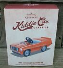General Motors Hallmark Ornament Kiddie Car Classics 1969 69 Chevy Camaro SS