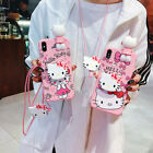 Cute Hello Kitty Painted Silicone Phone Case For iPhone 11 Max 6 7 8 XR SE 2020