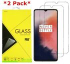 2 Pack Premium Tempered Glass Screen Protector Film Cover For OnePlus 7T