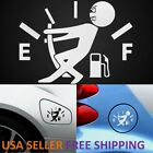 2-pack Funny Car Vinyl Sticker High Gas Consumption Decal Fuel Gage Empty
