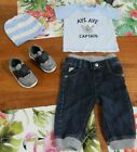 Sz 0 Baby BOY Clothes ~ Beanie T Shirt Jeans Shoes BAKER BABY RICOCHET BABY
