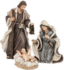 Holy Family 3 Piece 6 Resin Stoneware Nativity Set